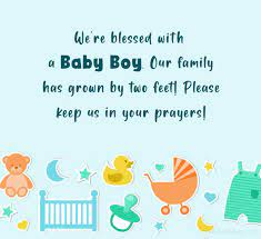Facebook Post For New Born Baby Boy