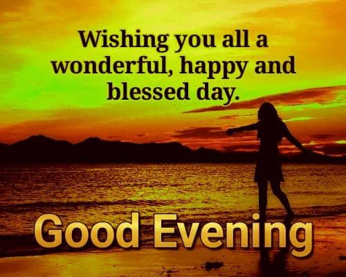 Emotional Good Evening Messages