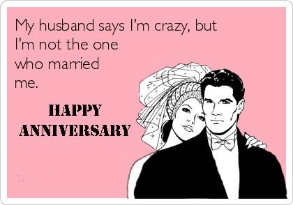 happy anniversary meme for husband