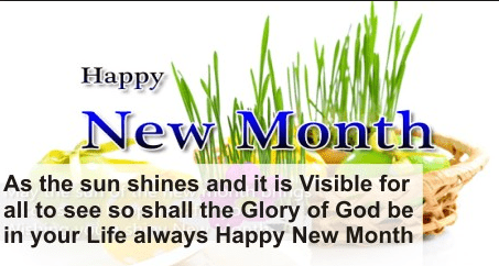 Happy New Month Prayer For Colleagues
