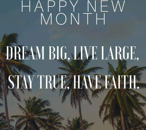 Happy New Month Prayers For Customer