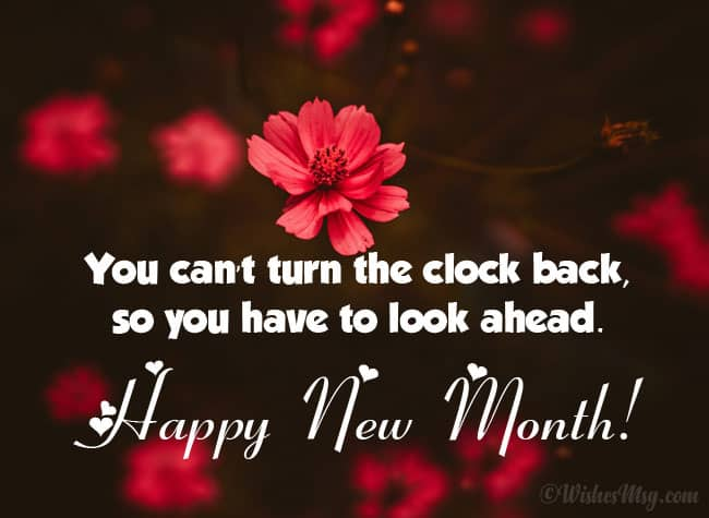 Inspirational Happy New Month Prayer To My Boss