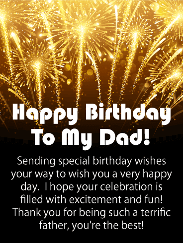 Meaningful Happy Birthday Dad