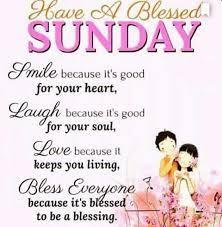 good morning sunday blessings