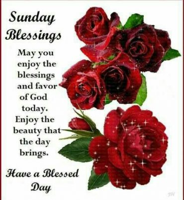 Sunday blessings quotes