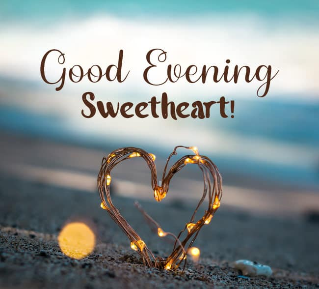 good evening message to my love