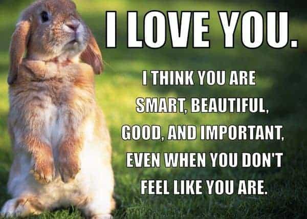i love you i think