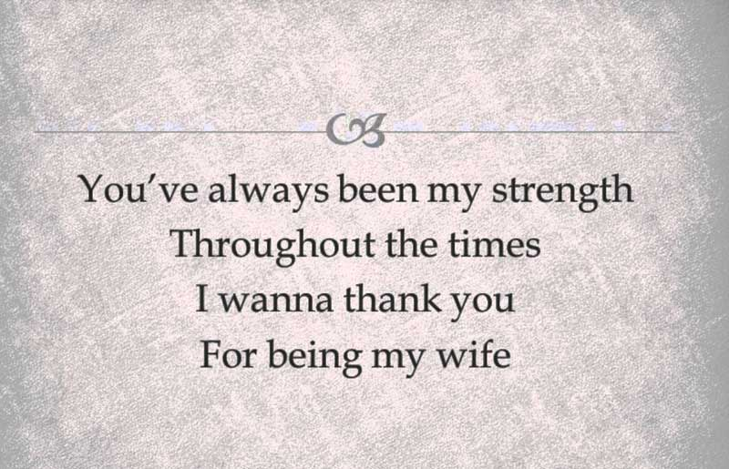 heart touching love letter to my wife