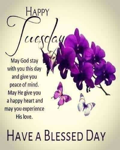 Free Tuesday Blessings
