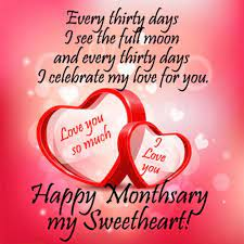 Monthsary Messages For Her