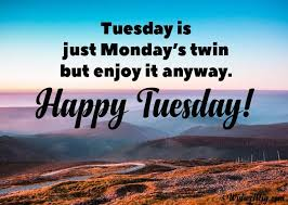 Tuesday Blessings Messages